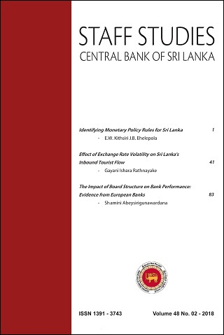 cover image for the Staff Studies journal