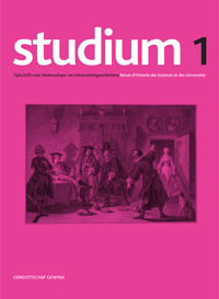 cover image for the Studium journal