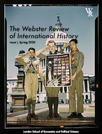 cover image for the The Webster Review of International History journal