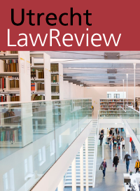 cover image for the Utrecht Law Review journal