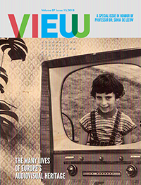 cover image for the VIEW Journal of European Television History and Culture journal