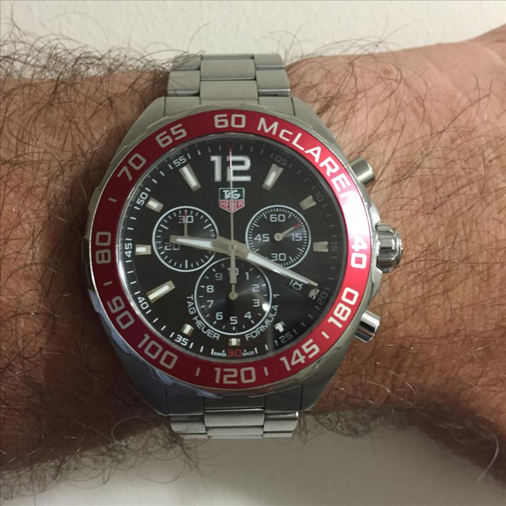 TAG Heuer Watch Formula 1 McLaren 30th Anniversary Limited Edition