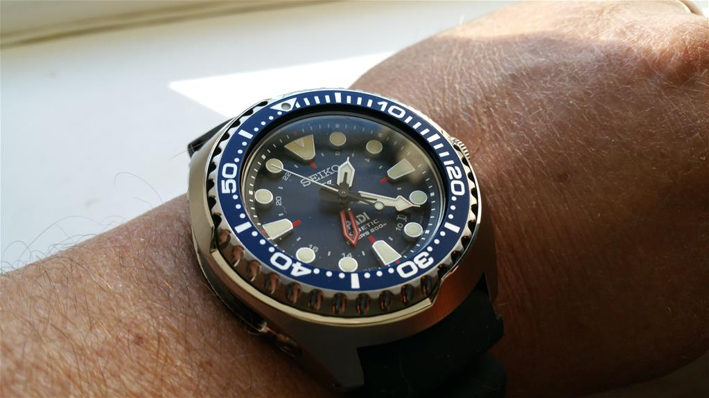 Seiko Watch Prospex PADI Kinetic GMT Diver Special Editions SUN065P1 ... ee6d5cafe5