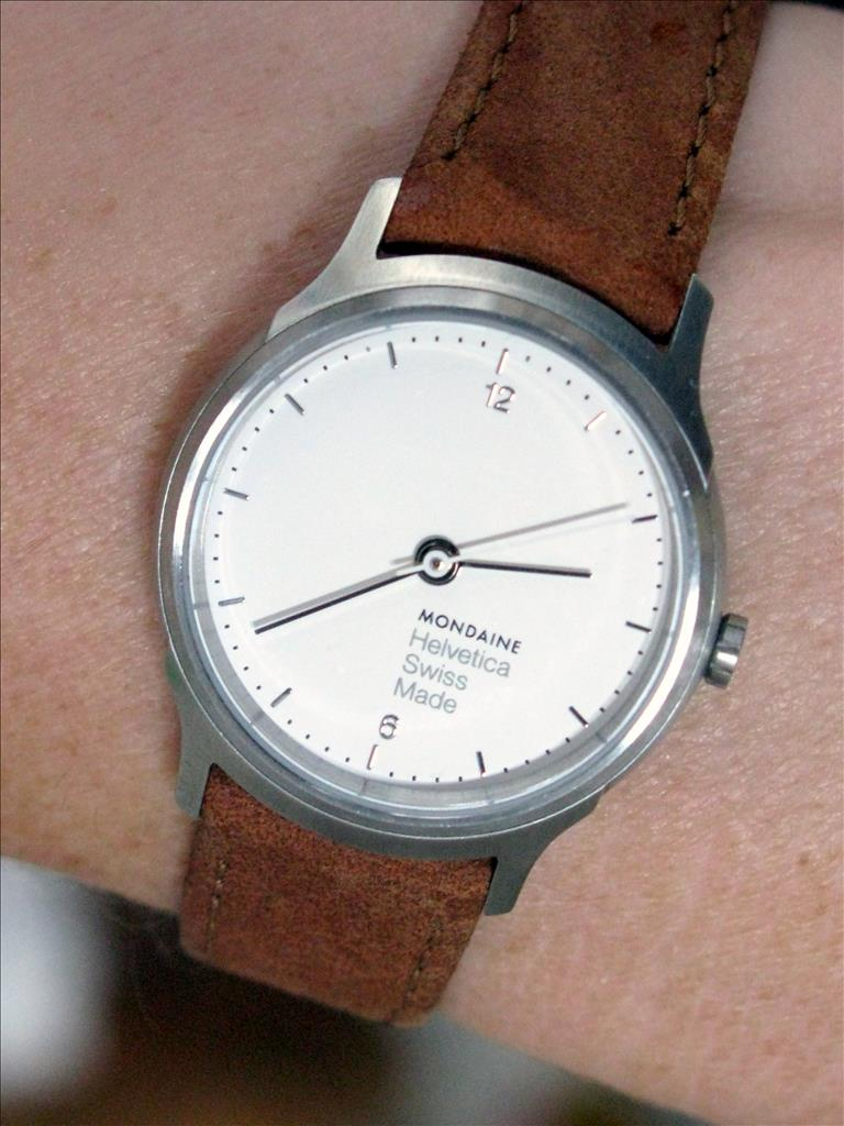 Mondaine Watch Helvetica No1 Light 26 MH1 L1110 LG Watch