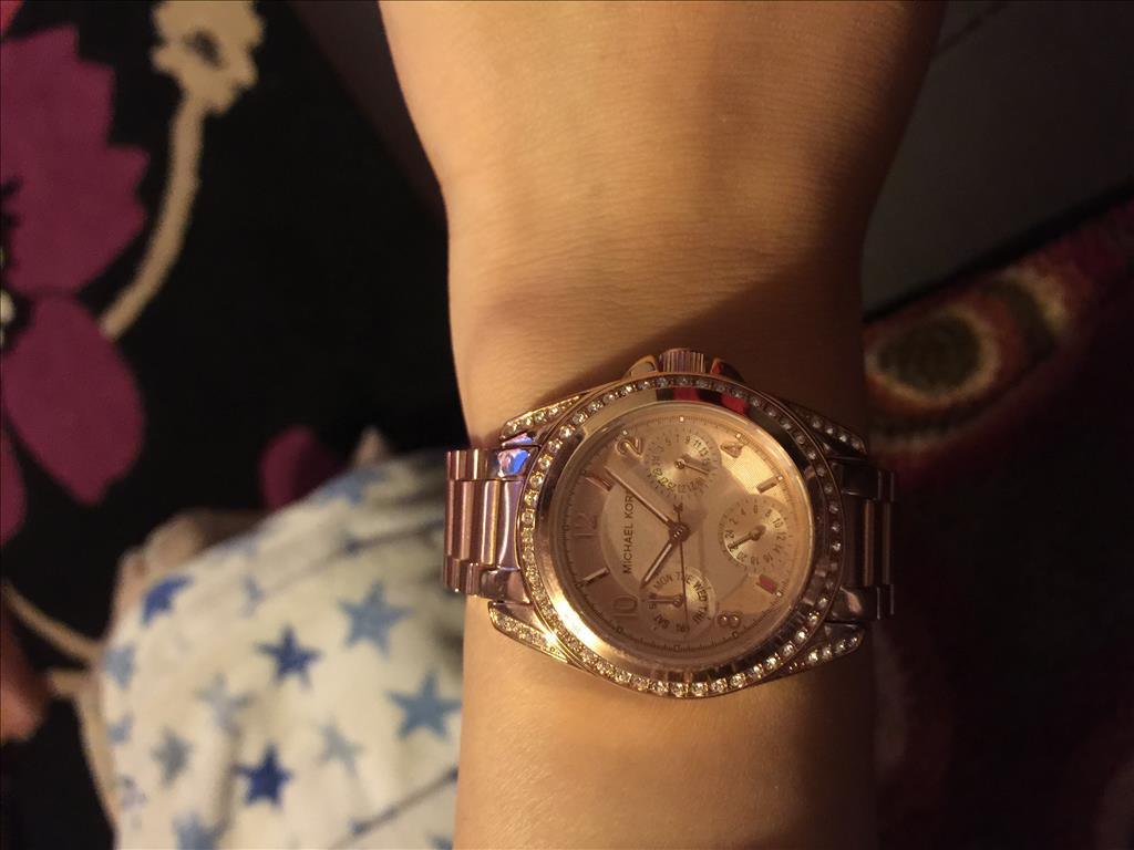 6042b6d0de9c Michael Kors Watch Mini Blair Ladies MK5613 Watch