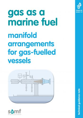 Manifold arrangements for gas-fuelled vessels
