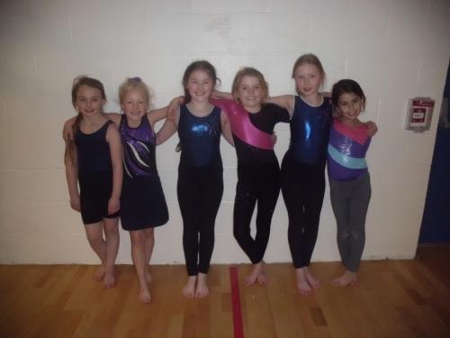 Y3/4 Gymnastics Success