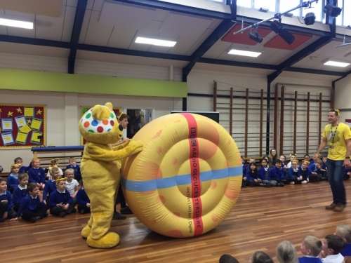Children in Need 2019 - Pudsey Visit