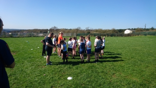 Ceri Large - England International Coaching Session