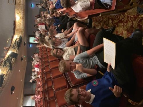 Y5 Theatre Visit
