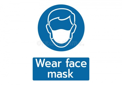 Face Masks Compulsory on Site