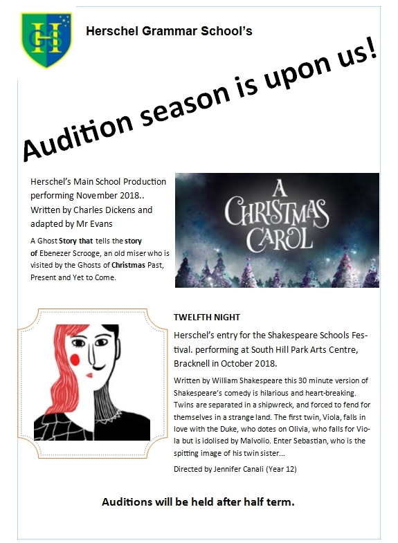 Drama Auditions