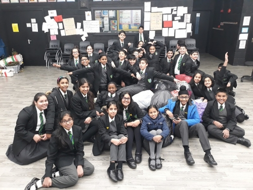Yr7 Charity Clothes Collection