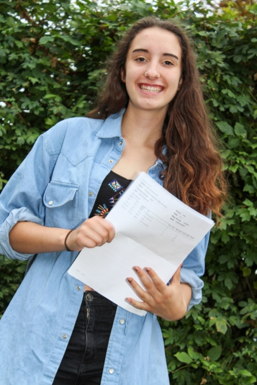 Connie Willis (A*, A, A) will be studying Psychology at Manchester