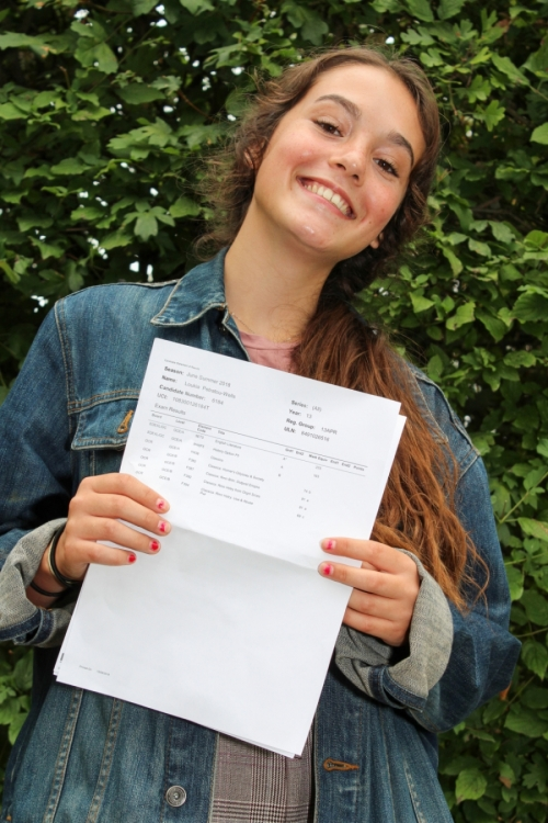 Loukia Petratou (A*, A, B) will be studying English & History at Glasgow