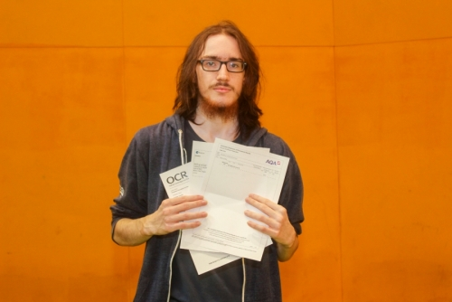 Daniel Byrne who has used his outstanding 3 A* grades at A Level to study Computer Science at Manchester.