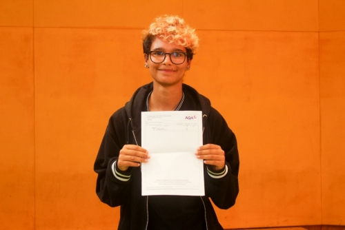 Evelyn Parsons (A*, A*, A*, A) will read German at the University of York