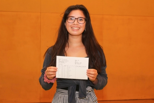 Amelia Mitchell who has achieved 8 Grade 9s and 3 Grade 8s at GCSE