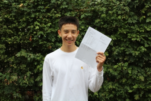 Dylan Besson achieved very highly with 5 Grade 9s, 4 Grade 8s, 1 A* and 3 Grade As