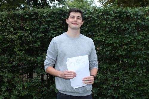 Finn Mungeam will be studying Physiotherapy at Birmingham