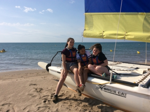 Lower School Watersports Excursion to France