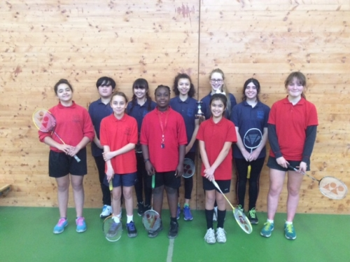 Girls' Badminton Team - Key Stage 3