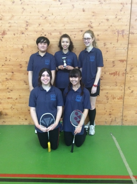 Girls' Badminton Team - Key Stage 4