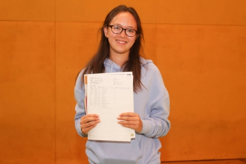Natasha Chan who has achieved a highly impressive 11 Grade 9s at GCSE