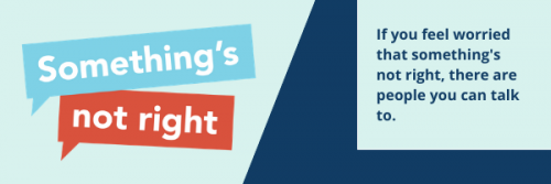 Something s Not Right Website Banner