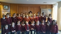Yr 6 visit to the Lord Mayor of Westminster's Parlour