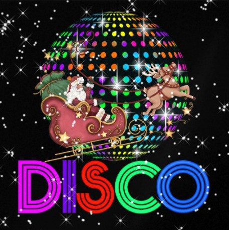 Image result for christmas disco