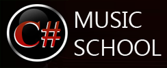 C# Music School Logo