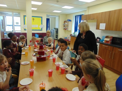 Tea With Mrs Cullen for Acts of Kindness