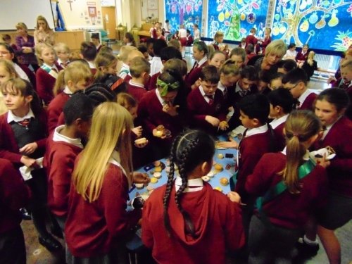 ABC Cake Sale to raise funds for KS1 Friendship Bench
