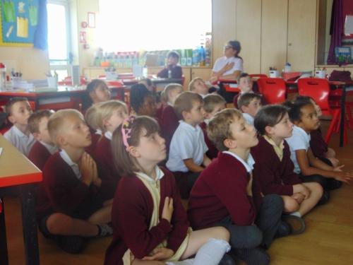 Meditation led by Faith Ambassadors