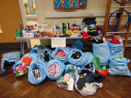 Collection for Noah for the Homeless in Luton and Surrounding Area