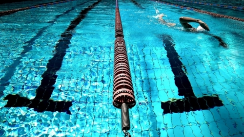 Stroud High Student Dina Swims Her Way to Victory
