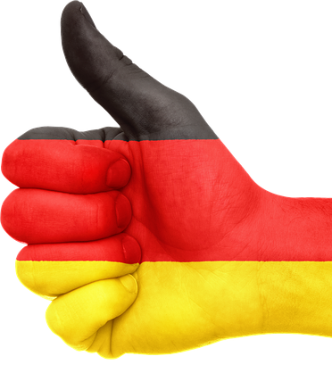 germany thumbs up