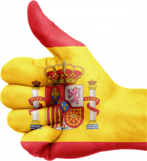 spain thumbs up