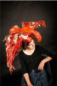 Headdress by Lydia Roe