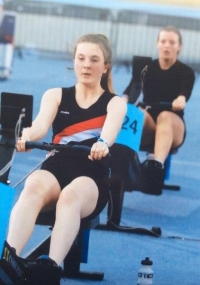 Phoebe Hicks Rowing