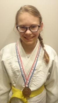 Ruby Maidment Judo Picture
