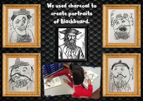 Blackbeard portraits