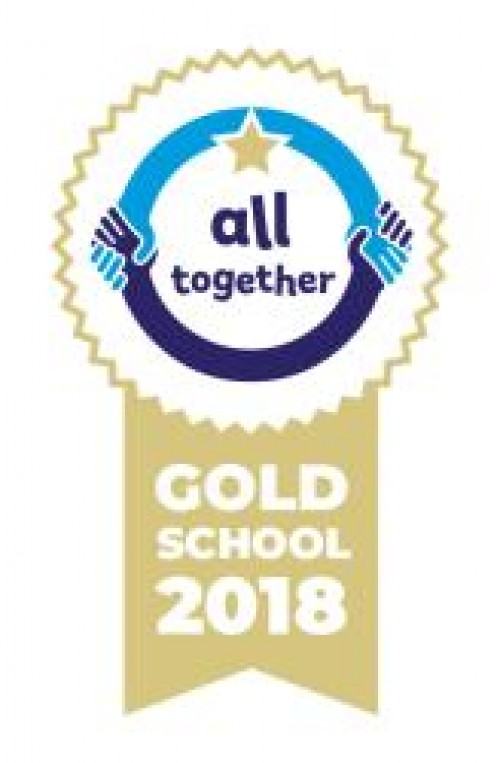 We are a GOLD status school!