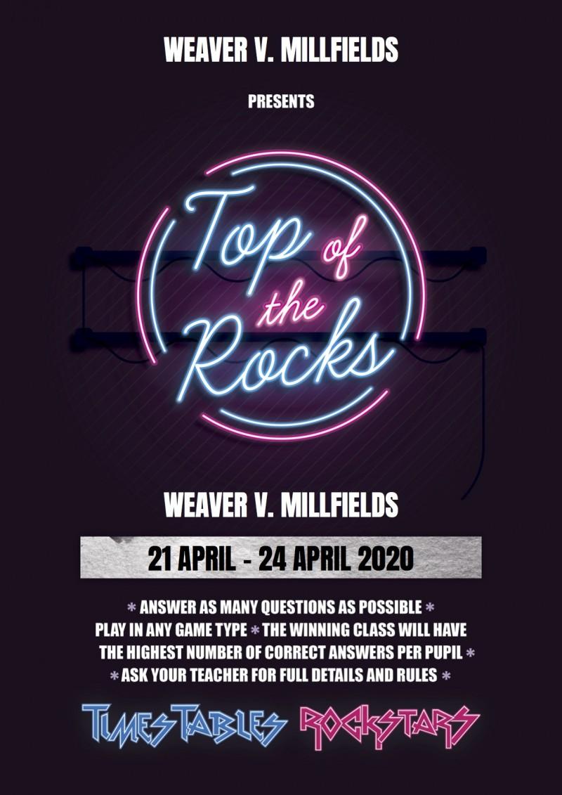Millfields v Weaver! The battle is on!