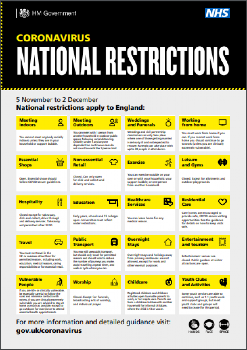New National Guidance