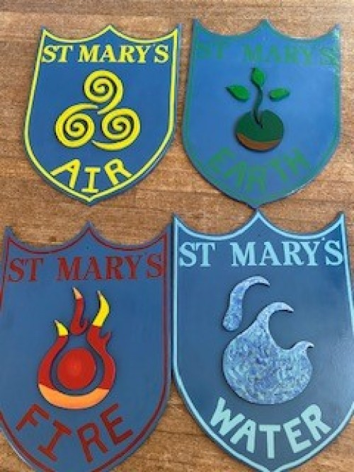 New house shields