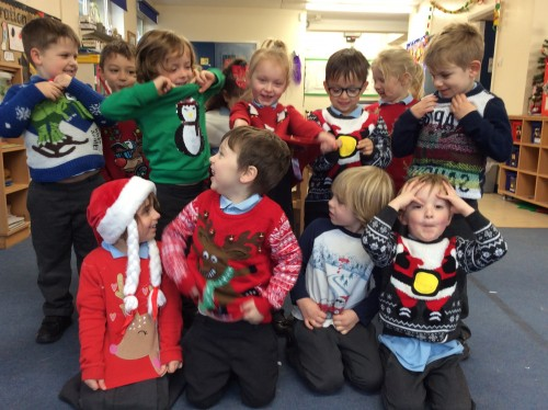 Reception Christmas Jumpers