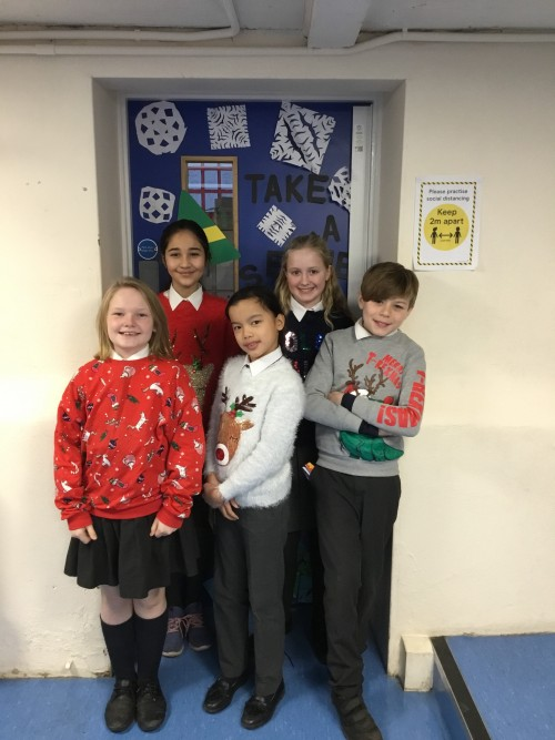 School Council Christmas Jumper Day 2020