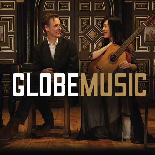 An album cover shows two musicians sitting on a stage looking at each other